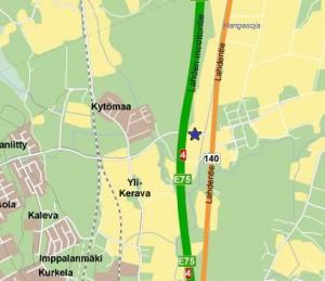 VMData - kaupunkikartta